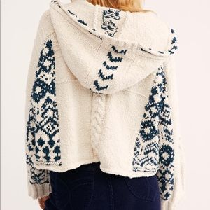 Free people hideout sweater hoodie
